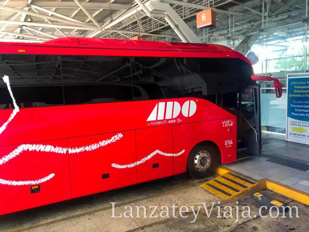 Autobus Ado en Cancun